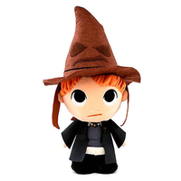 Peluche Harry Potter Ron with sorting hat 15cm