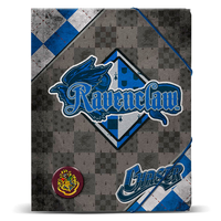 Carpeta A4 Harry Potter Quidditch Ravenclaw gomas
