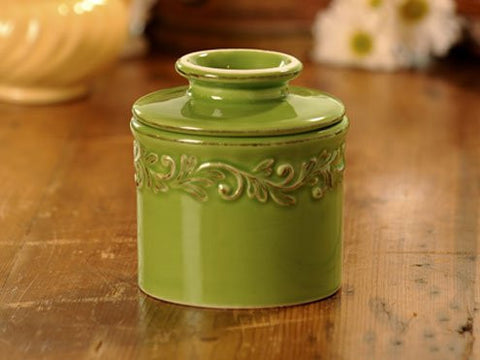 Vert Green Antique Butter Bell