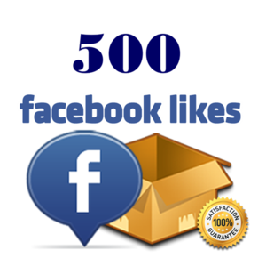 Get 500 facebook likes