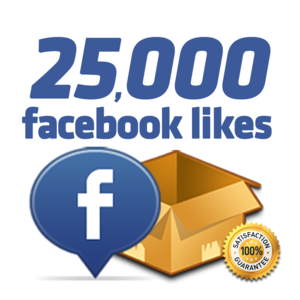 Get 25 000 facebook likes