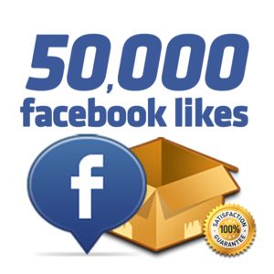 Get 50 000 facebook likes