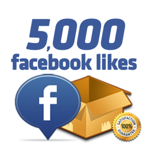 Get 5000 Facebook likes