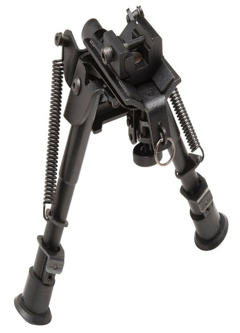 TruGlo Tac-Pod Adjustable Bipod Pivot Base w-Adpt-6-9in