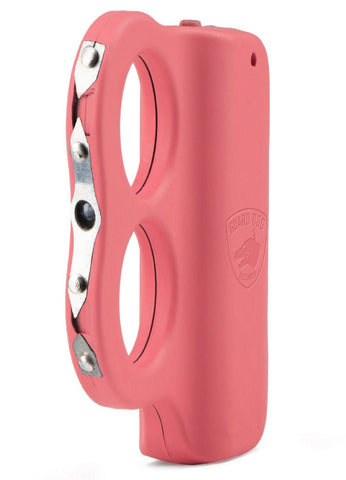 Guard Dog Dual LED Grip To Stun Gun - Rechargeable - Pink