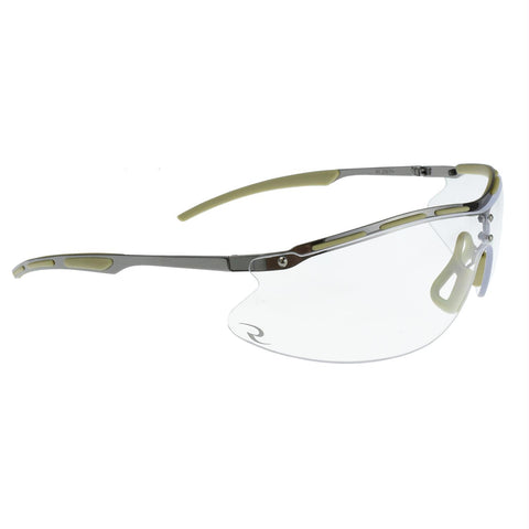 Radians CSB101 Shooting Glasses - Metal and Clear