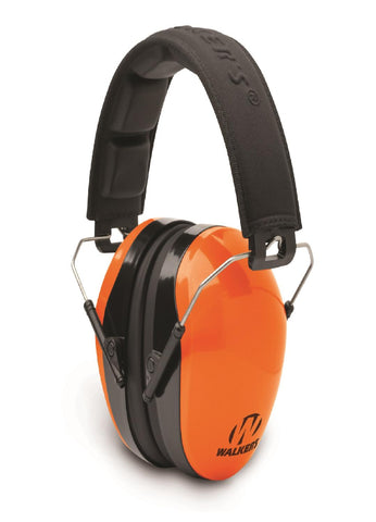 Walkers Dual Color Passive Muff Blaze Orange