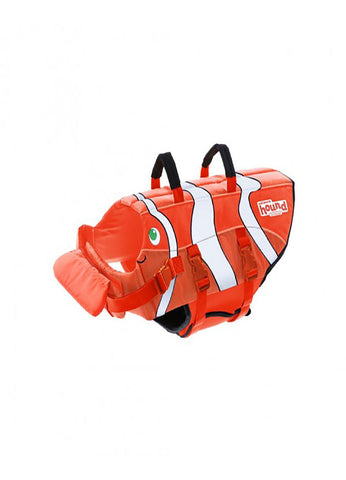 Outward Hound Ripstop Life Jacket Fish Orange LG