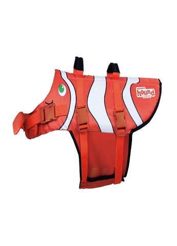 Outward Hound Ripstop Life Jacket - Fish Orange SM