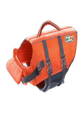 Outward Hound Granby Splash Life Jacket Orange LG