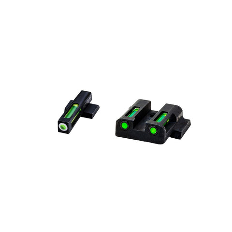 HIVIZ LiteWave H3 Sight Set Shield 9mm 40 S and W .45 caliber
