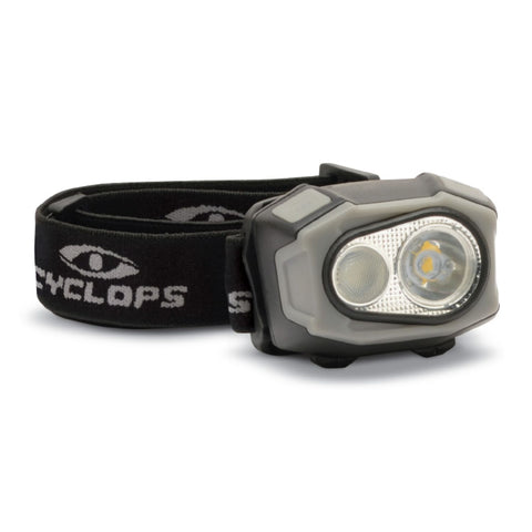 Cyclops 400 Lumen Rechargeable LED Headlamp
