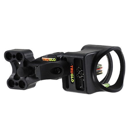TruGlo Carbon XS 4 Pin Sight Black  TG5704B