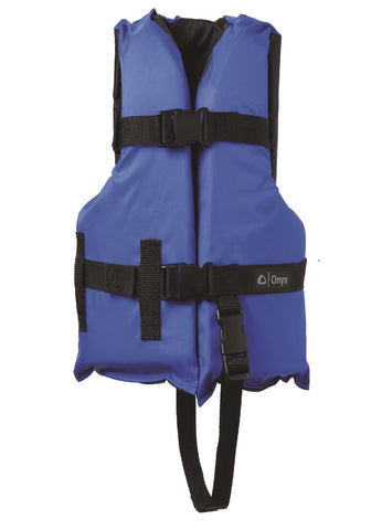 Onyx Child Boating Vest Blue-Black