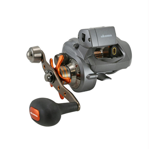 Okuma Coldwater 350 Low Profile Linecounter Reel CW354DLX LH
