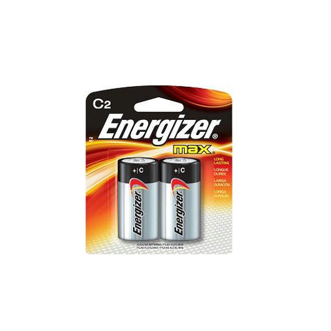 Energizer Max C Batteries 2pk E93BP-2