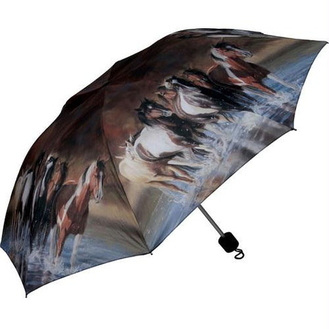 Rivers Edge 42In. Compact Folding Horse Umbrella