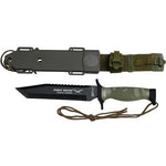 MTech MT-676TC Fixed Blade 12 Inch Overall
