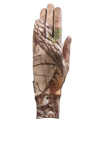 Seirus Soundtouch Dynamax Glove Liner Camo Rltree Xtra LG-XL