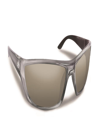 Flying Fisherman Buchanan Crystal Gunmetal w-Smoke Sunglass
