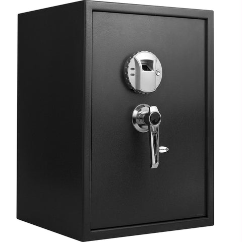 Barska Large Biometric Safe with Handle - Stores 120 Users