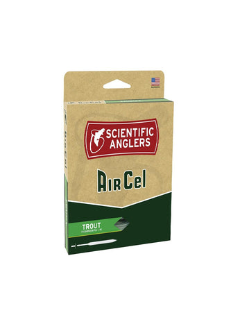 Scientific Anglers AirCel Floating Trout Fly Line-5-6-Green