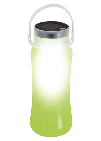 Stansport Solar LED Lantern Storage Bottle-Green