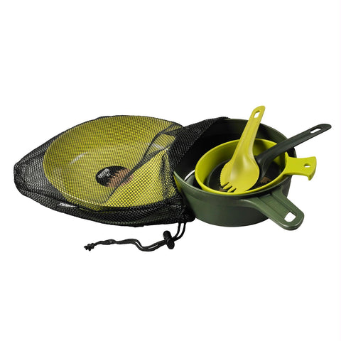 Wildo Eating Essentials - Two Person Set - Olive-Lime