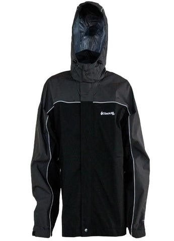Compass 360 RoadForce Reflective Riding Jacket-Slate-Blk-MD