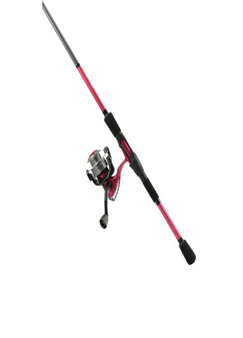 Okuma Chameleon Spinning Combo 6' Medium Action Raspberry