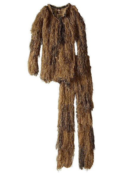 Red Rock 5Piece Youth Ghillie Suit Woodland Youth Size 10-12