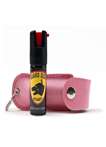 Guard Dog Soft Case Keychain Pepper Spray - Pink