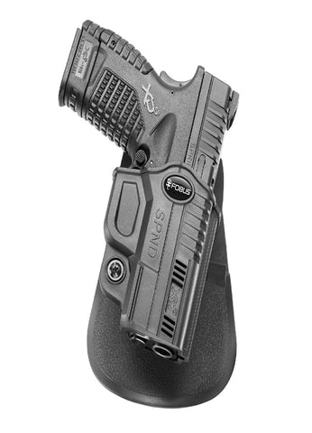 Fobus Evolution Paddle Holster-Springfield XD-S 3.3in-4in