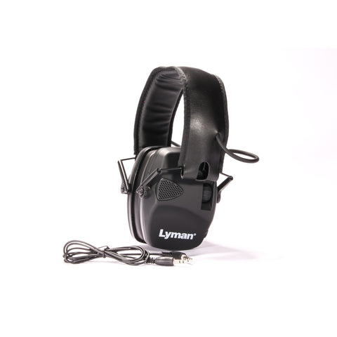 Lyman Electronic Hearing Protection Black
