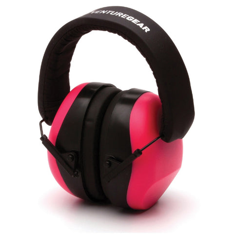 Venture Gear Low Porfile Hearing Protection NRR 26 db Pink
