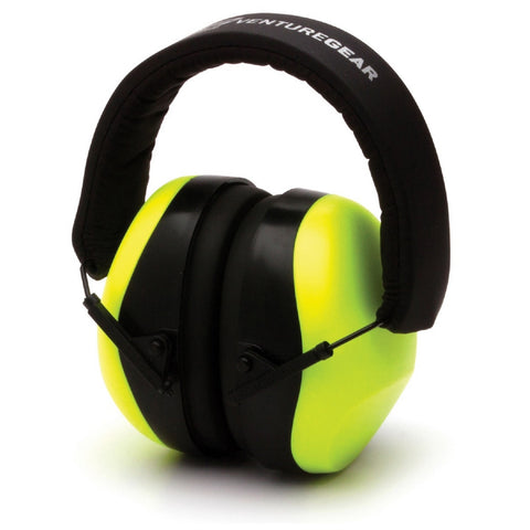 Venture Gear Low Porfile Hearing Protection NRR 26 db Lime