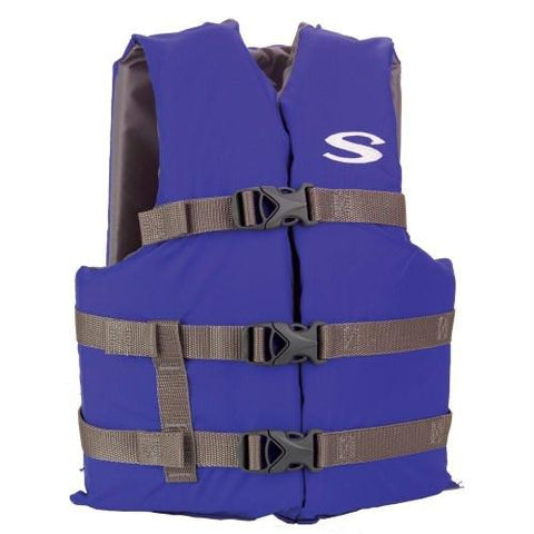 Stearns Pfd 2001 Cat Adlt Boating Ovsz  Blu 3000001685