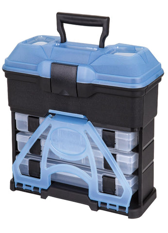 Flambeau T3 Frost Series Mini Front Loader Tackle Box Blue