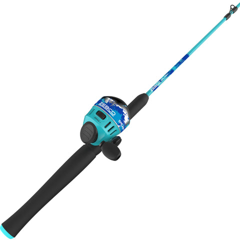 Zebco Splash Blue 602M Sc Combo 10#
