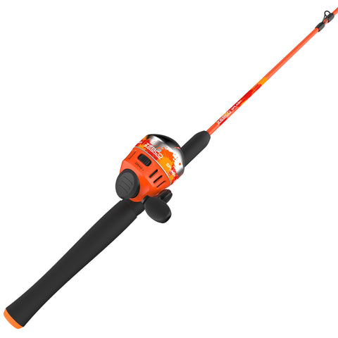 Zebco Splash Orange 602M Sc Combo 10#