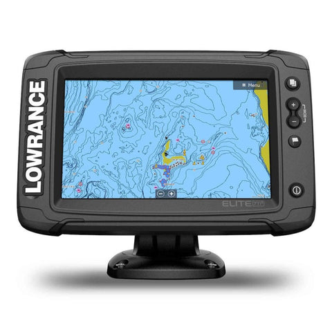 Lowrance Elite-7 Ti2 C-MAP Active Imaging 3-N-1 Transducer