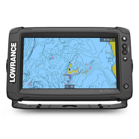 Lowrance Elite-9 Ti2 C-MAP Active Imaging 3-N-1 Transducer