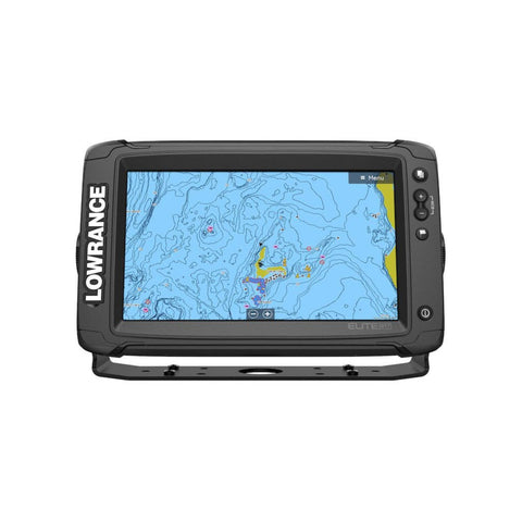 Lowrance Elite-9 Ti2 C-MAP HDI A I Transducers Y Cable
