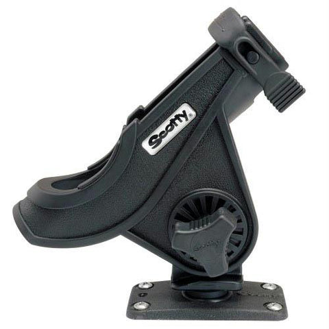 Scotty Baitcaster-Spinning Rod Holder w-244 Flush Deck Mount