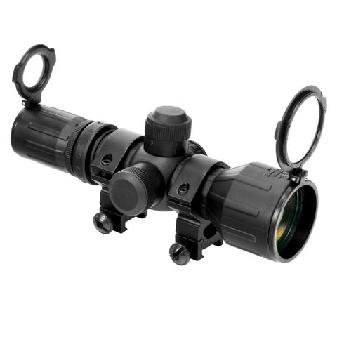 NcStar Rubber Armored Compact 3-9X42 Scope