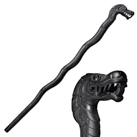 Cold Steel Dragon Walking Stick 39.0 in Overall Length