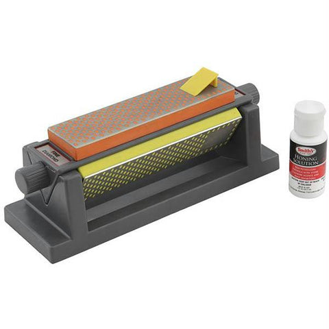 Smiths 6 in. Diamond Tri-Hone Sharpener
