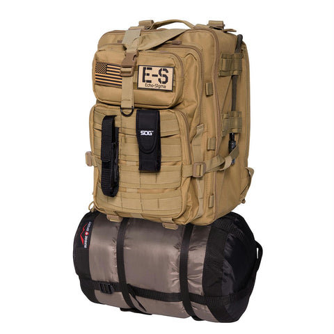 Echo-Sigma Emergency Bug Out Bag Coyote