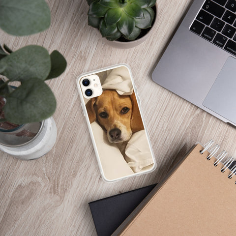 Bedtime Beagle iPhone Case