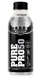 ABB Performance Pure Pro 50, Cookies & Cream, 14.5 Oz X 12 Bottles